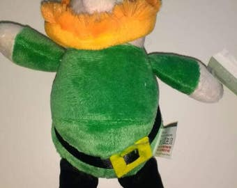 Cute saint Patrick's teddy.