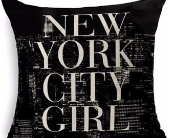 New York City Girl - Pillow Cover