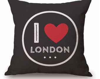I Love London - Pillow Cover