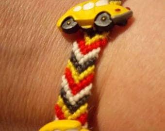 "Emma Swan inspired ""Beetle"" knotted bracelet"