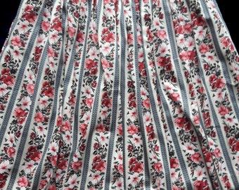 Vintage gypsy floral skirt No. 42