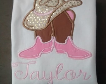 Personalized Cowgirl Shirt
