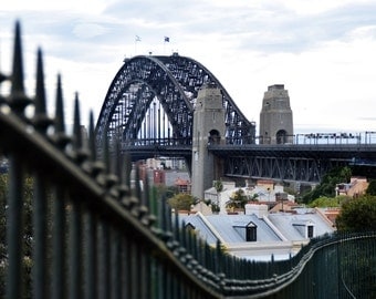 Sydney Harbour Bridge Photography from Observatory Hill Print