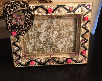 Embellished picture frame