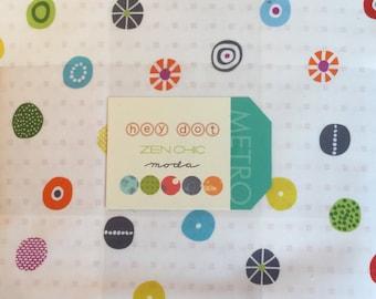 On Sale--hey dot Layer Cake by Zen Chic for Moda Fabrics
