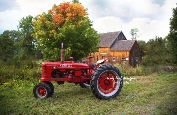 Farmall Tractor at Waters Farm Original Photography
