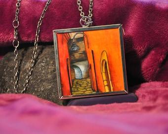Via Costarella  and Da Via Fiorilli necklace (Piece #7)