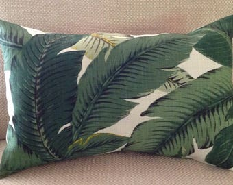 """18"""" x 18"""" TOMMY BAHAMA Swaying Palm Palms Pillow covers, cover, Aloe Pillow cover, Inside/outdoor Pillow Cover"""