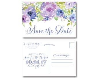 PRINTABLE Save the Date Postcard, Printable Save the Date, Wedding Save the Date, Save-the-Date, Wedding Postcard, Save our Date #CL330