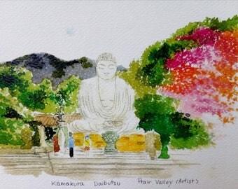 Free shipping of the Kamakura Daibutsu.