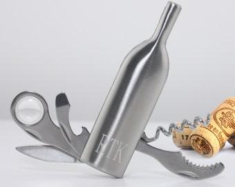Personalized Vino Bottle Multi-Tool - Wine Tool Set - Wine Opener - Bar Accessories - Man Cave Accessories - GC1019