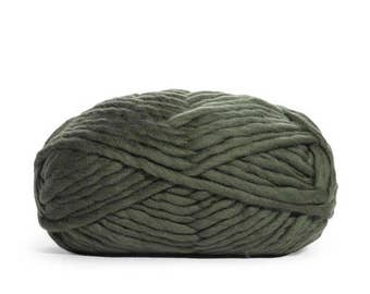 KALE Funky Chunky - Super Soft Merino Wool Yarn