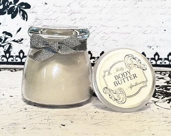 Unscented Body Butter | Body Butter Cream | Eczema Relief Cream for Hands and Body Butter Cream Lotion | Organic Coconut Oil Luxe Body Cream