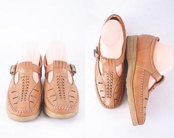 1970s Dr Scholls Shoes, Vintage 70s Shoes, Platform Shoes, Chunky Heel, T Strap Shoes, Mary Janes, Brown Leather Shoes, Dr Scholls Sandals