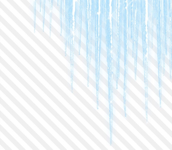 sparkling icicle clipart realistic icicle overlays