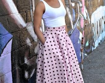Neapolitan Midi Skirt (NEW!!)