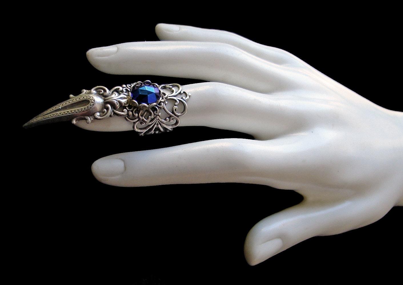 Half Finger Armor Rings