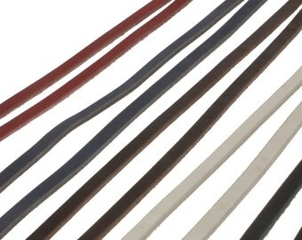 Natural Leather Full Cowhide Straps One Piece Strips Blank Dog Collar Leash Black Brown Blue Tan White Red 12mm 1/2 inch Wide Heavyweight