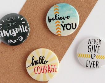 Inspirational Magnets, Motivational Magnets, Motivational Quotes, Inspirational Quotes, Magnet set, Motivational Magnet Set