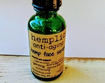 hemplicity anti-aging hemp face serum