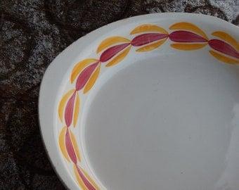 Gefle Flamma Bowl Vintage Bowl, Scandinavian Tableware Vintage Gefle Bowl Upsala Ekeby