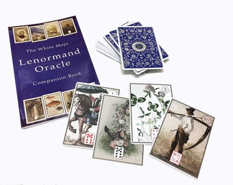 White Mojo Lenormand Oracle Deck and Companion Book - 3rd edition