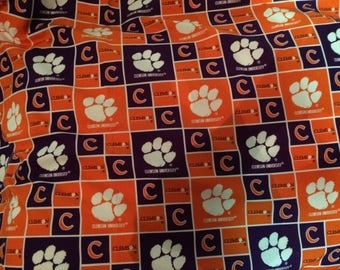 Clemson Pillow Shams
