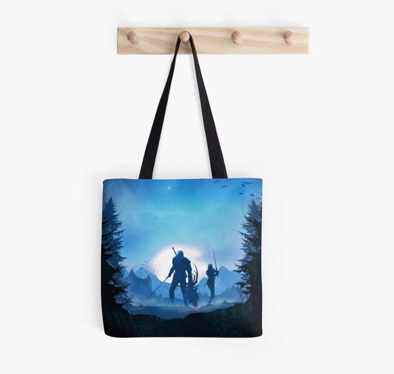 The Witcher Inspired Tote Bag - Geralt Tote