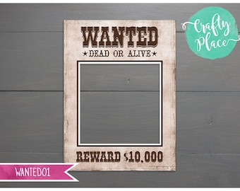 Cowboy Photo Booth Etsy