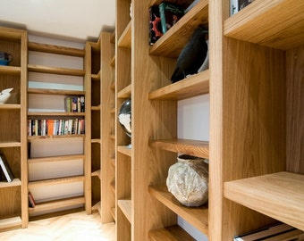 Hand crafted Shelving fitted to suit any room or space