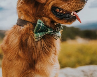 Dog Bow Tie - Cat Bow Tie - Lincoln Plaid Bow Tie for pets - Collar Bow Tie!