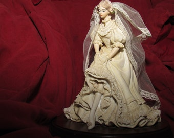 Limited Edition Enesco White Lace And Promises Bride