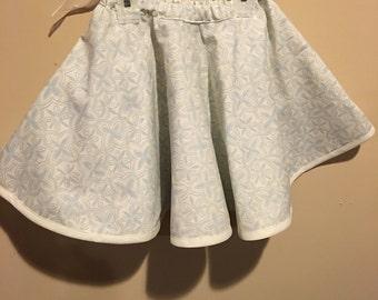 Girls cotton twirl skirt