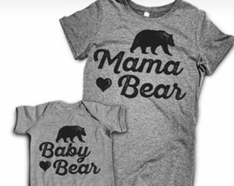 Momma Bear and Baby Bear Set