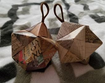 4 Paper Ornaments