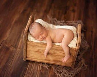 Newborn bed photo prop