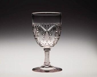"""EAPG """"Prism Arc"""" Goblet, 1880s"""