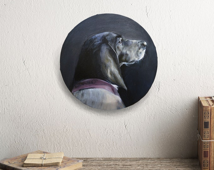 CLASSICAL DOG PORTRAIT - a traditional portrait of your beloved animal
