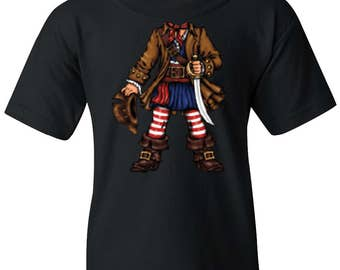 Pirate Captain Youth Shirt