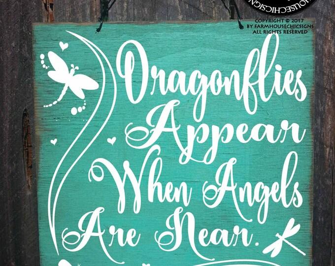 condolences, condolence gift, condolence sign, memorial gift, memorial art, memorial sign, dragonfly art, heaven sent, memorial, 281