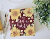 Custom Design // Hand Painted Bible