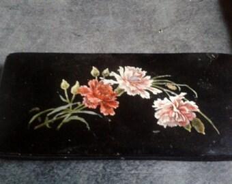 Former pen in papier-mâché art nouveau. Painter. Fine Arts. lacquer