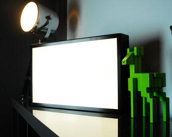 500 x 300mm (A3) Blank LED Lightbox - Illuminated Light Up Box - UK Made