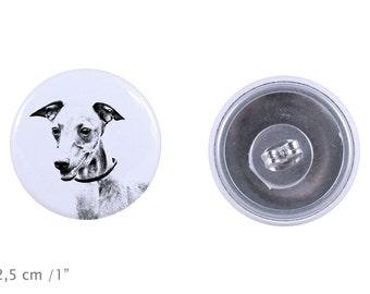 Earrings with a dog -Azawakh