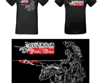 Polish Hussars - T-shirt with a patriotic symbol