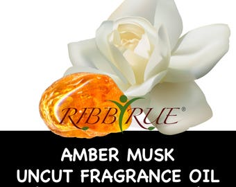 Pure Amber Musk Uncut Fragrance Oil - FREE SHIPPING SHIPPING