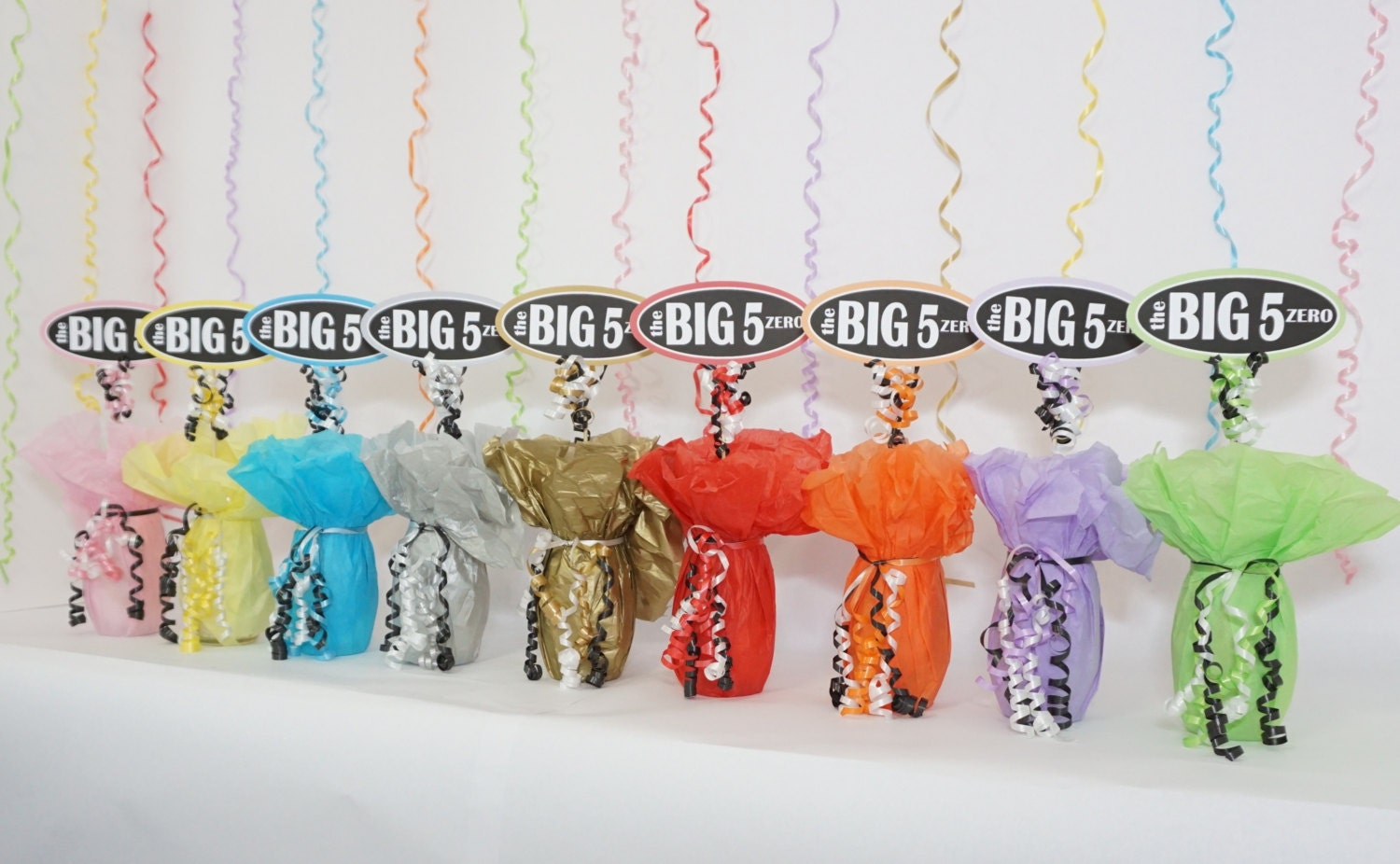 50th birthday decoration the big 5 zero available in 9 for 70th birthday decoration