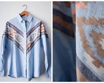 70s Roper southwestern shirt | Fits many