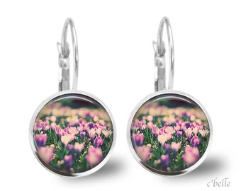 Earrings flowers spring 9