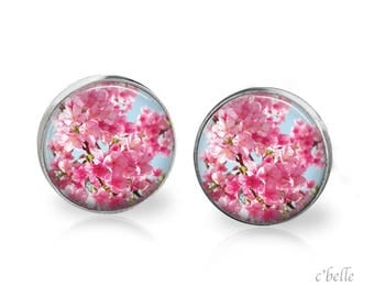 Earrings cherry blossoms 60